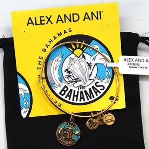 Alex And Ani 2019 Bahamas Exclusive Gold Bangle